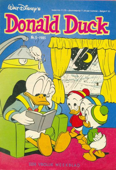 Cover for Donald Duck (Oberon, 1972 series) #5/1985