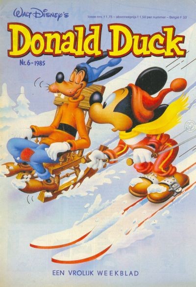 Cover for Donald Duck (Oberon, 1972 series) #6/1985