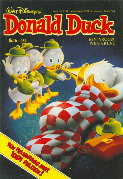 Cover for Donald Duck (Oberon, 1972 series) #16/1985