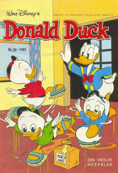 Cover for Donald Duck (Oberon, 1972 series) #22/1985