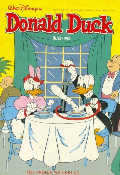 Cover for Donald Duck (Oberon, 1972 series) #23/1985