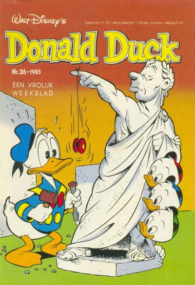 Cover for Donald Duck (Oberon, 1972 series) #26/1985