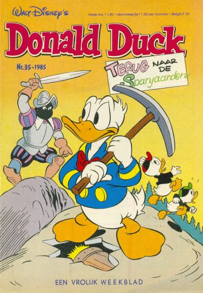 Cover for Donald Duck (Oberon, 1972 series) #35/1985