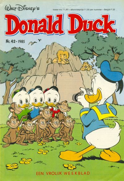 Cover for Donald Duck (Oberon, 1972 series) #42/1985