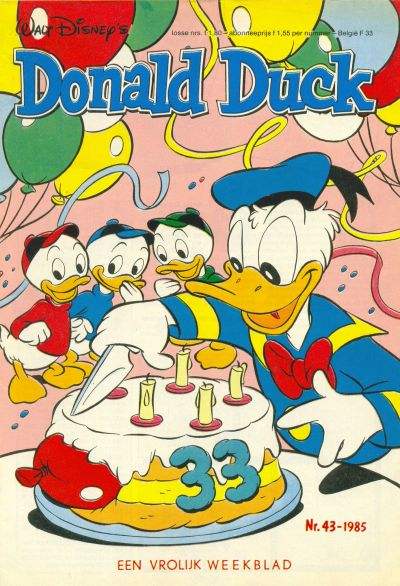 Cover for Donald Duck (Oberon, 1972 series) #43/1985