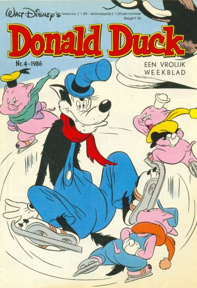 Cover for Donald Duck (Oberon, 1972 series) #4/1986