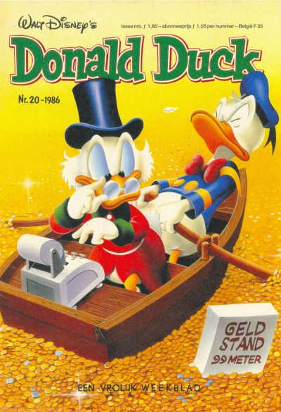 Cover for Donald Duck (Oberon, 1972 series) #20/1986