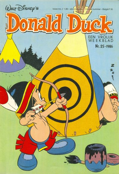 Cover for Donald Duck (Oberon, 1972 series) #25/1986