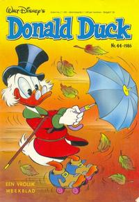 Cover Thumbnail for Donald Duck (Oberon, 1972 series) #44/1986