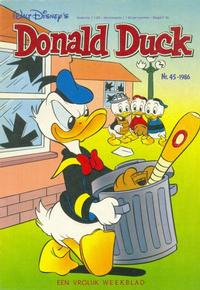 Cover Thumbnail for Donald Duck (Oberon, 1972 series) #45/1986