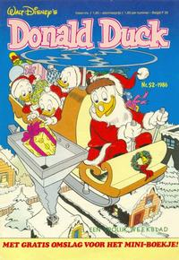 Cover Thumbnail for Donald Duck (Oberon, 1972 series) #52/1986