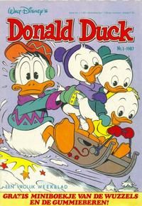 Cover Thumbnail for Donald Duck (Oberon, 1972 series) #1/1987
