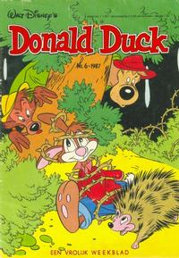 Cover Thumbnail for Donald Duck (Oberon, 1972 series) #6/1987