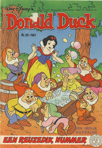Cover Thumbnail for Donald Duck (Oberon, 1972 series) #29/1987