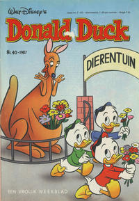 Cover Thumbnail for Donald Duck (Oberon, 1972 series) #40/1987