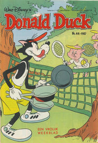 Cover Thumbnail for Donald Duck (Oberon, 1972 series) #44/1987