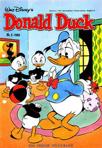 Cover Thumbnail for Donald Duck (Oberon, 1972 series) #5/1988