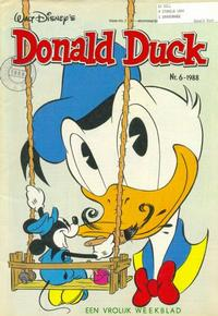 Cover Thumbnail for Donald Duck (Oberon, 1972 series) #6/1988
