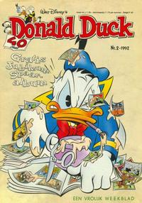Cover Thumbnail for Donald Duck (Geïllustreerde Pers, 1990 series) #2/1992