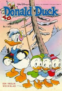 Cover Thumbnail for Donald Duck (Geïllustreerde Pers, 1990 series) #7/1992