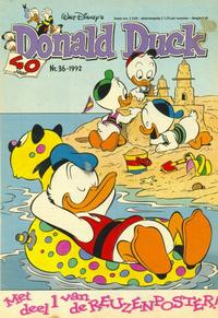 Cover Thumbnail for Donald Duck (Geïllustreerde Pers, 1990 series) #36/1992