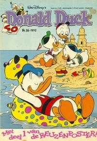 Cover for Donald Duck (Geïllustreerde Pers, 1990 series) #36/1992