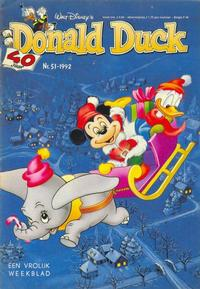 Cover Thumbnail for Donald Duck (Geïllustreerde Pers, 1990 series) #51/1992