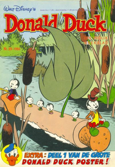 Cover for Donald Duck (Oberon, 1972 series) #39/1986