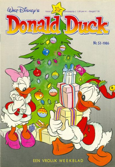 Cover for Donald Duck (Oberon, 1972 series) #51/1986