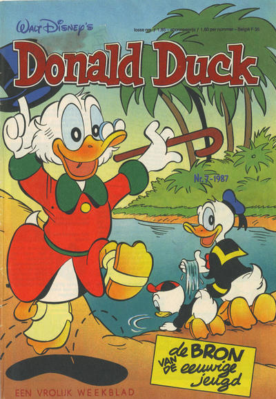 Cover for Donald Duck (Oberon, 1972 series) #7/1987