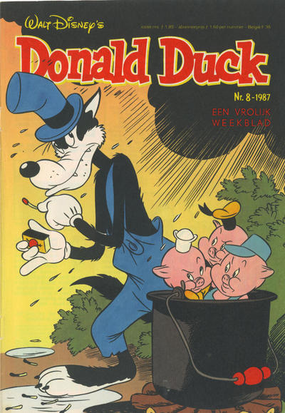 Cover for Donald Duck (Oberon, 1972 series) #8/1987