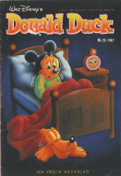Cover for Donald Duck (Oberon, 1972 series) #12/1987