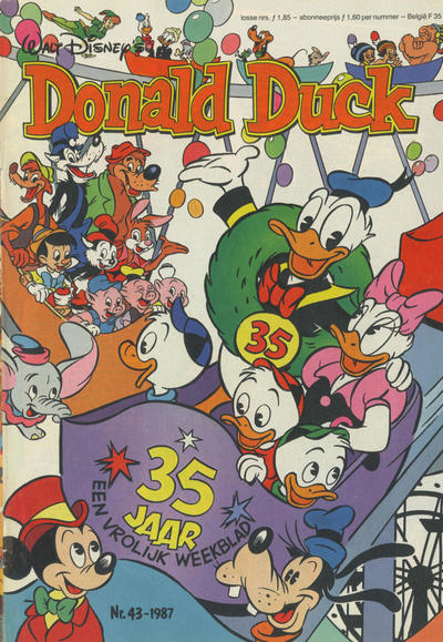 Cover for Donald Duck (Oberon, 1972 series) #43/1987