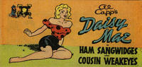Cover Thumbnail for Al Capp's Daisy Mae in Ham Sangwidges also Cousin Weakeyes (Toby, 1950 series)