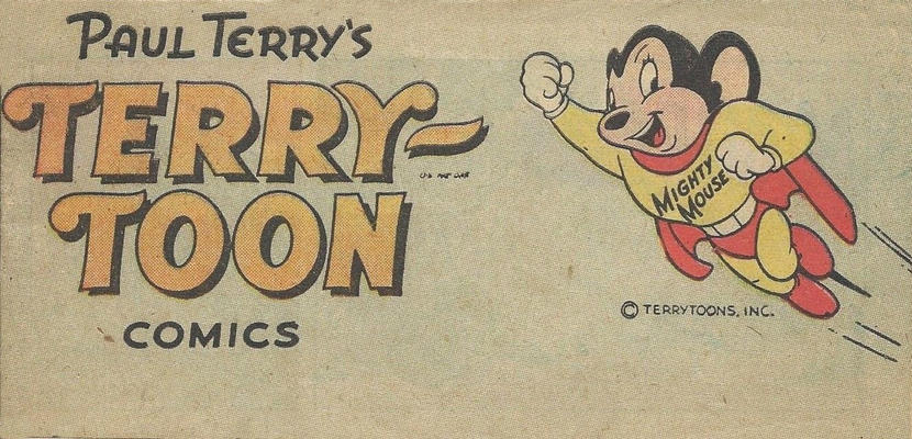 Cover for Paul Terry's Terry-Toon Comics (Toby, 1950 series) #[nn]