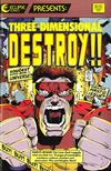 Cover for Destroy !! (Eclipse, 1987 series) #1