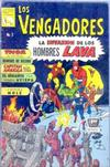Cover for Los Vengadores (Editora de Periódicos La Prensa S.C.L., 1965 series) #3