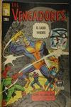 Cover for Los Vengadores (Editora de Periódicos La Prensa S.C.L., 1965 series) #92