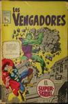 Cover for Los Vengadores (Editora de Periódicos La Prensa S.C.L., 1965 series) #95