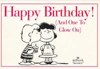 Cover Thumbnail for Happy Birthday! (And One to Glow On!) (Hallmark Books, 1996 series)