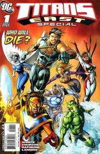 Cover Thumbnail for Titans East Special (DC, 2008 series) #1