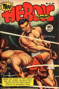 Cover Thumbnail for New Heroic Comics (Eastern Color, 1946 series) #40
