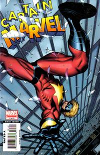 Cover Thumbnail for Captain Marvel (Marvel, 2008 series) #3 [First Printing]
