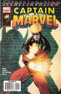 Cover Thumbnail for Captain Marvel (Marvel, 2008 series) #5