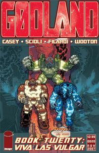 Cover Thumbnail for Godland (Image, 2005 series) #20