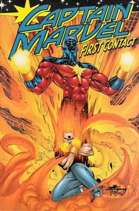 Cover Thumbnail for Captain Marvel: First Contact (Marvel, 2001 series)