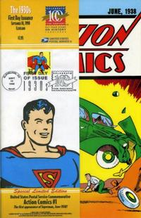 Cover Thumbnail for Action Comics [US Postal Service] (DC / United States Postal Service, 1998 series) #1