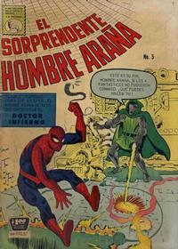 Cover Thumbnail for El Sorprendente Hombre Araña (Editora de Periódicos La Prensa S.C.L., 1963 series) #5