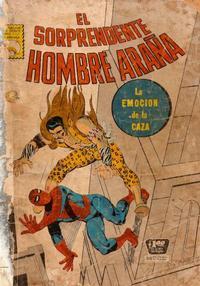 Cover Thumbnail for El Sorprendente Hombre Araña (Editora de Periódicos La Prensa S.C.L., 1963 series) #53