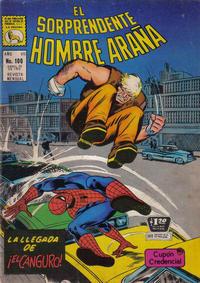 Cover Thumbnail for El Sorprendente Hombre Araña (Editora de Periódicos La Prensa S.C.L., 1963 series) #100